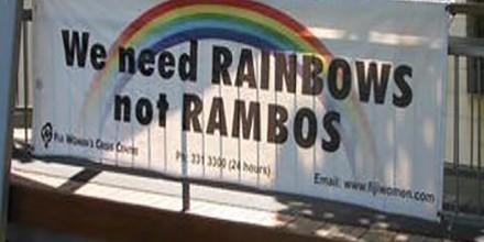 Rainbows not Rambos