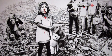 Image courtesy of Flickr Creative Commons, Banksy