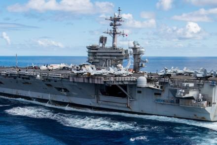 Image: USS Carl Vinson Flickr CC