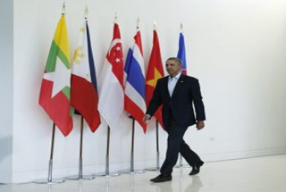 US President Barack Obama arrives for a news conference at the close of the ASEAN summit February, 2016  (Photo: Reuters)
