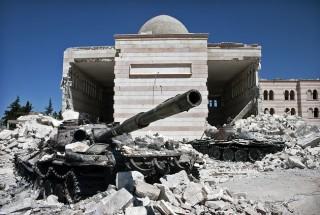 Destruction in Azaz, Syria. Image courtesy of Christiaan Triebert, Flickr.