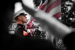 Image: Courtesy Flickr Creative Commons Marines Memorial Day Tyler Bolken