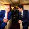 Shinzo Abe and Malcolm Turnbull January 2018 (Photo: Shinzo Abe/Twitter)