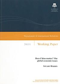 IR Working Paper 2003/1