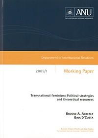 IR Working Paper 2005/1