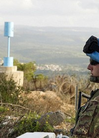 Peacekeeper patrols Blue Line. Source: UN Photo/Eskinder Debebe @ Flickr.com