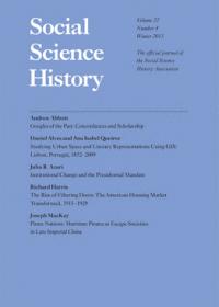 Social Science History