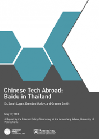 Chinese Tech Abroad: Baidu in Thailand