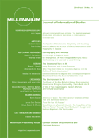 Millennium: Journal of International Studies